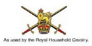 As used by the Royal Household Cavalry